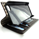 genuine oil real leather case for iphone 4s cover pouch s 4 book wallet stand TA