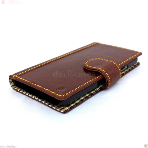genuine italian leather case for samsung galaxy s5 hard cover purse pro flip wallet stand luxury business pro