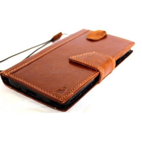 genuine oiled leather hard case fit for Galaxy NOTE 4 LEATHER CASE  cover purse book pro wallet stand  flip free shipping luxury au