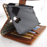 genuine soft leather Case for Samsung Galaxy S4 SIII s4 book wallet handmade UK