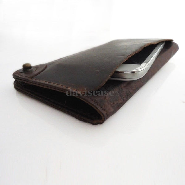genuine natural leather case for samsung galaxy NOTE 2  cover purse pouch book wallet stand GANOTE2b