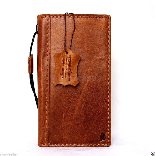 genuine italian leather Case for Samsung Galaxy S6 Edge book wallet luxury cover s Business