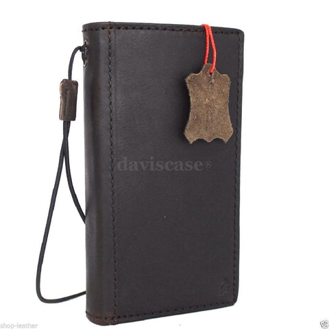 genuine full leather Case fit for Samsung Galaxy S5 active s 5 SM-G870A book wallet handmade il
