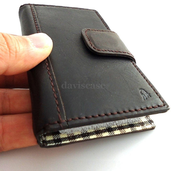 genuine oil real leather case for iphone 4s cover pouch s 4 book wallet stand TAi