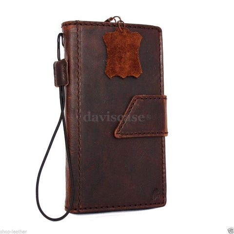 genuine italian slim leather case for iphone 6  4.7 cover book wallet credit card magnet luxurey flip slim magnet close