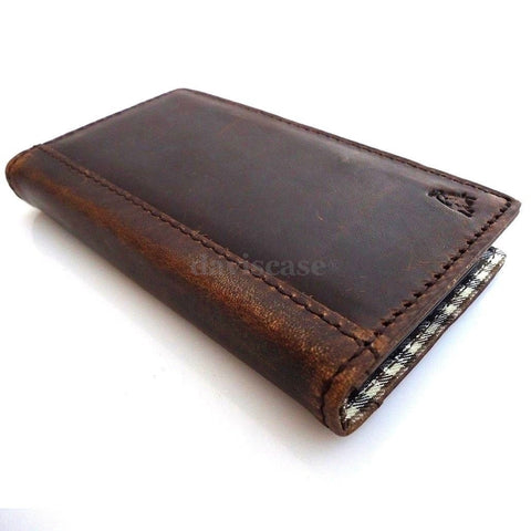 genuine vintage leather Case for Samsung Galaxy S3s 3 book wallet stand holder 3s free shipping