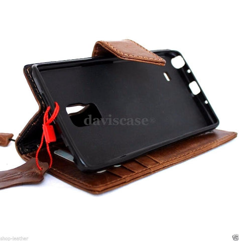 genuine oiled italian leather Case for Samsung Galaxy note edge book wallet luxury cover s XII v magnet