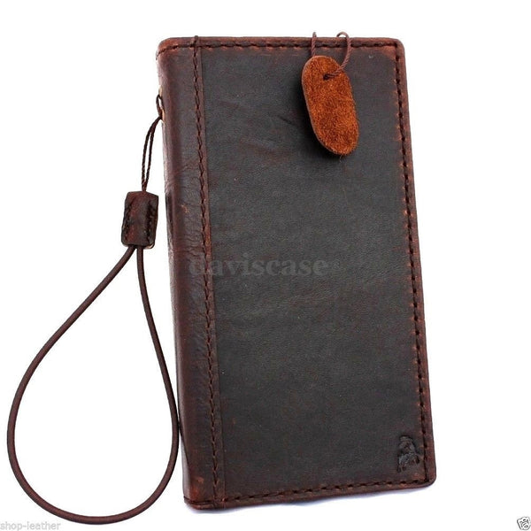 genuine italin leather case for nokia lumia icon cover book wallet credit card magnet luxurey gift