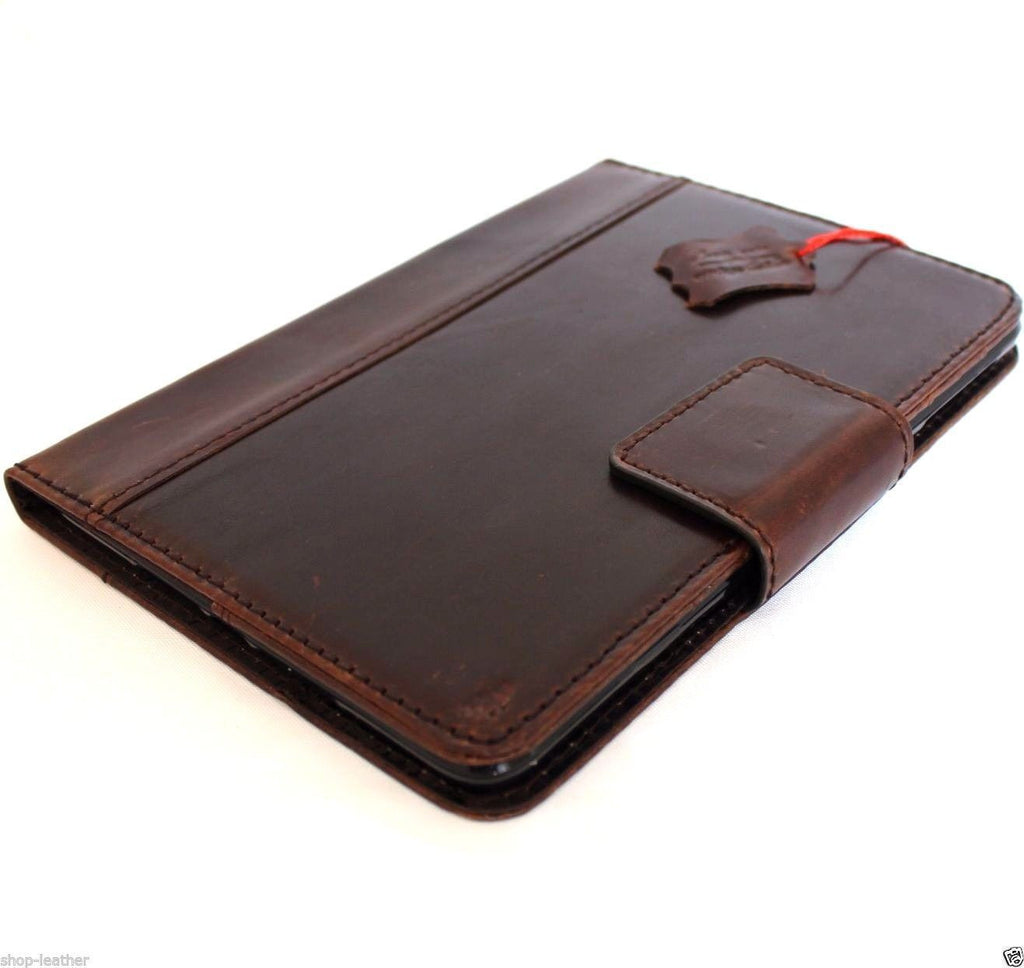 Genuine full Leather case for apple iPad Pro 12.9 hard cover handbag stand magnet brown slim