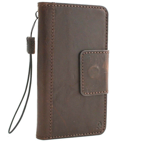 Genuine leather Case for Samsung Galaxy S10 Plus book wallet cover Cards wireless charging window Jafo magnetic slim daviscase S 10