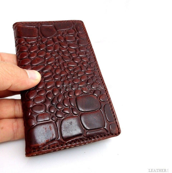 genuine vintage leather case for samsung galaxy NOTE 2 II cover purse pouch book wallet stand au