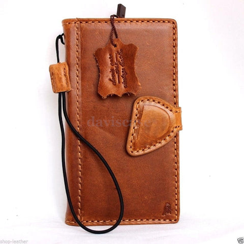 genuine full leather Case for Samsung Galaxy S6 book wallet luxury RETRO cover s Business