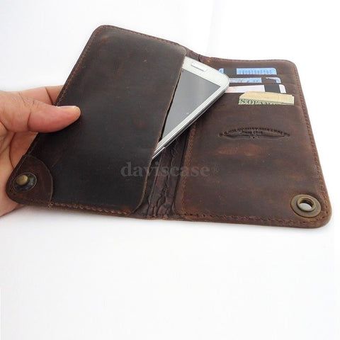 genuine natural leather case for samsung galaxy NOTE 3  cover purse pouch book wallet stand note3 free shipping !