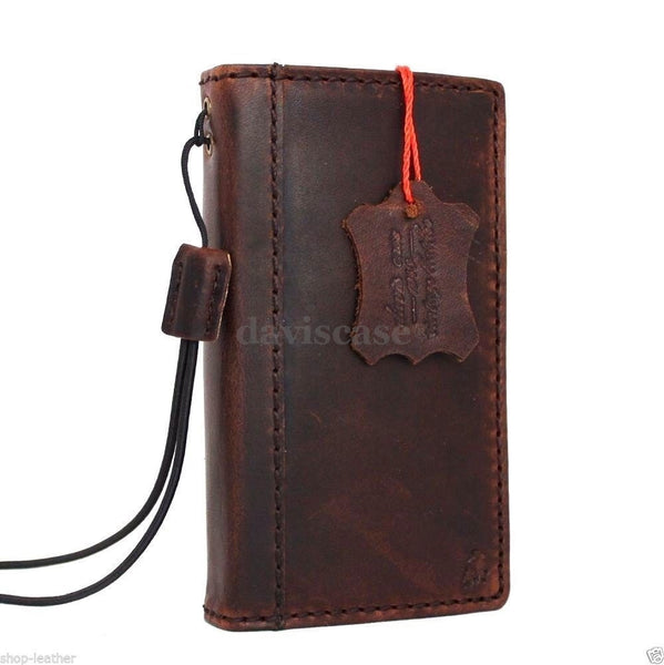 genuine italian leather case for iphone 4s cover s 4 book wallet stand handmade itR