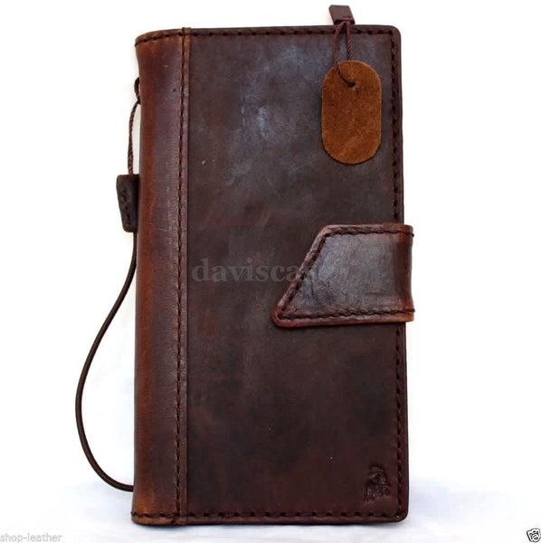 genuine italy leather case for iphone 6 cover book wallet credit card magnet luxurey flip slim R free shipping  60s 4.7 Lanyard