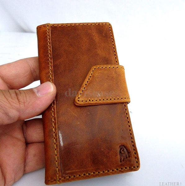 genuine vintage leather case for iphone 4s cover purse s 4 G book wallet stand oil