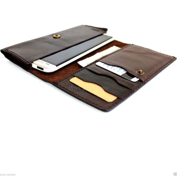 genuine italian leather case for iphone 5s 5c 5 cover book wallet credit card c s flip handmade luxury !