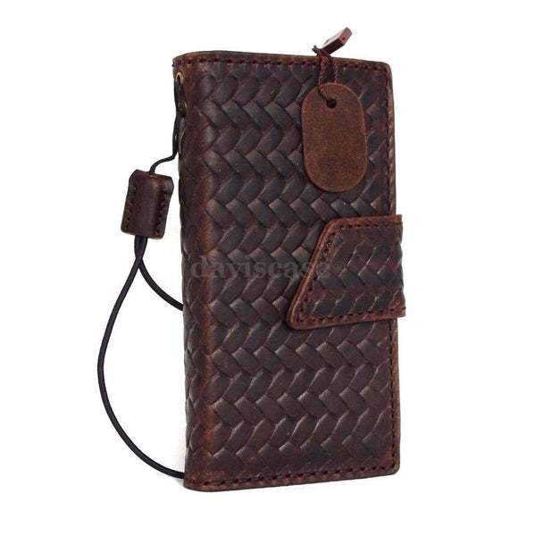 genuine italian leather hard case fit iphone 5s 5c 5 cover book wallet credit card c s flip handmade luxury au