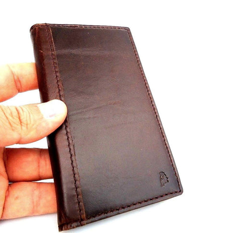 genuine real leather Case for GALAXY S4 CASE book wallet handmade skin UK p769 free shipping