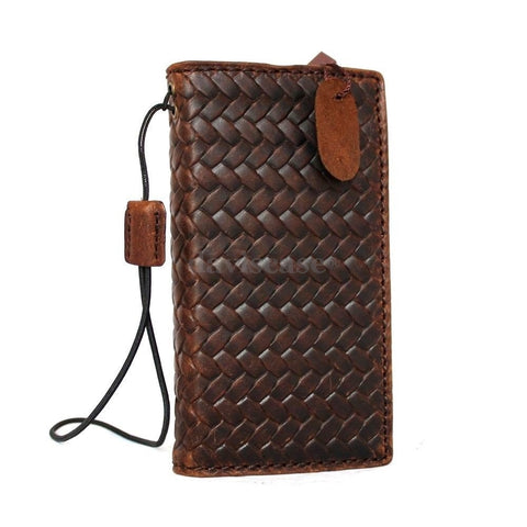genuine italian leather hard case fit iphone 5s 5c 5 cover book wallet credit card c s flip handmade luxury uk