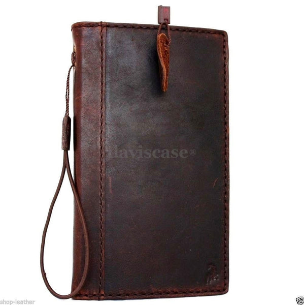 Case genuine Leather Cover Nokia Lumia 1520 Pouch Wallet Phone skin Flim Clip au free shipping