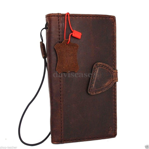 genuine FULL leather Case fit for Samsung Galaxy note 5 book wallet luxury cover 5 slim