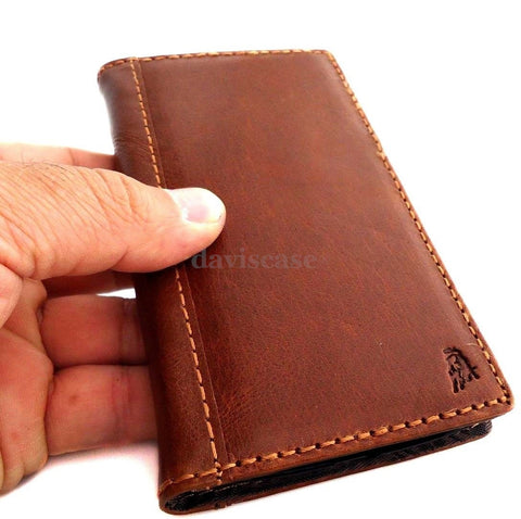 genuine leather fit LG Nexus 5 google Case for book wallet handmade slim cover free shipping
