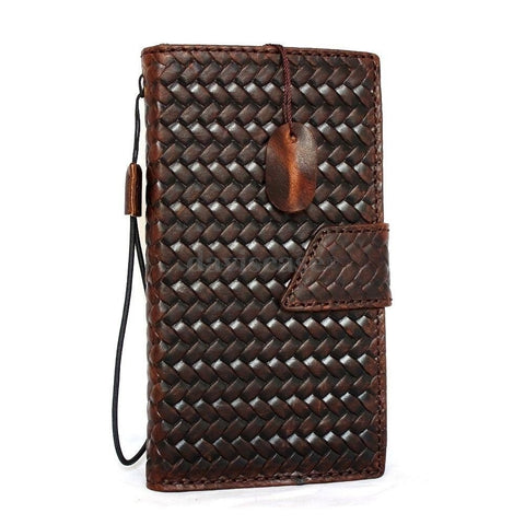 genuine Leather Cover for Samsung Galaxy Note Edge Case Wallet Phone luxury au free shipping