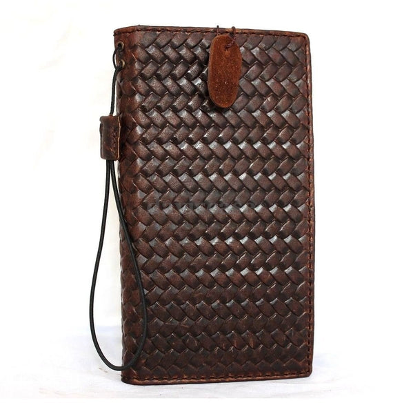 genuine Leather Cover for Samsung Galaxy Note Edge Case Wallet Phone luxury IL free shipping