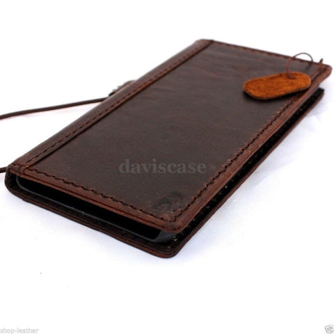 genuine italy leather case for nokia lumia icon cover book wallet credit card magnet luxurey