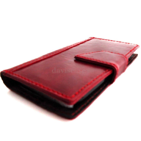 Copy of genuine vintage leather Case 3S for Samsung Galaxy S3 3 book wallet handmade ta