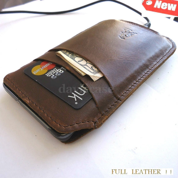 genuine leather Case cover PULL for samsung galaxy Ace 2 I8160 and Nokia Lumia 520