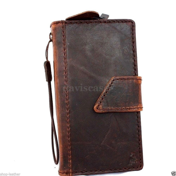 genuine italy leather case for nokia lumia 930 cover book wallet credit card magnet luxurey new