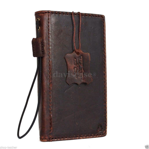 genuine italian leather Case for Samsung Galaxy S6 book wallet luxury cover s Business