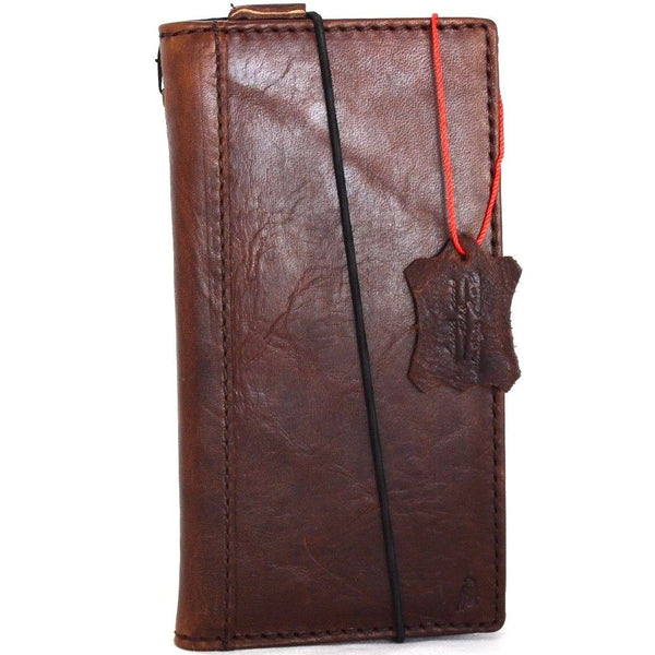 competitive price 599fb 61542 Genuine real leatherfor apple iPhone x case cover wallet credit holder book  luxury holder slim davis ready wireless charging