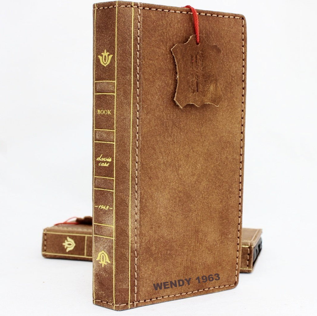 699995a15c8f Genuine vintage leather Case for Samsung Galaxy S9 Plus book wallet bible  strap cover cards slots Jafo daviscase wireless charging custome emboss ...