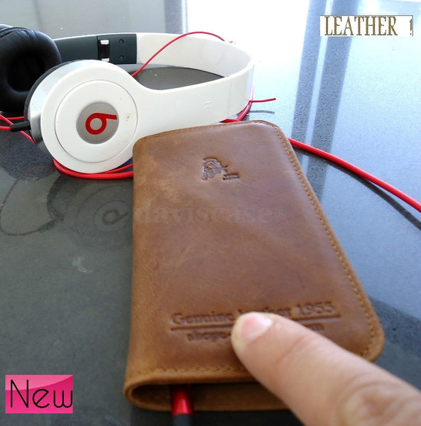 genuine leather case fit Samsung book wallet cover stand pouch galaxy sII s2 2s