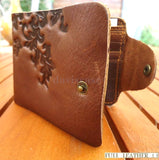 Genuine real leather man wallet bag Coin Purse CreditCard TOUGH russia hand made