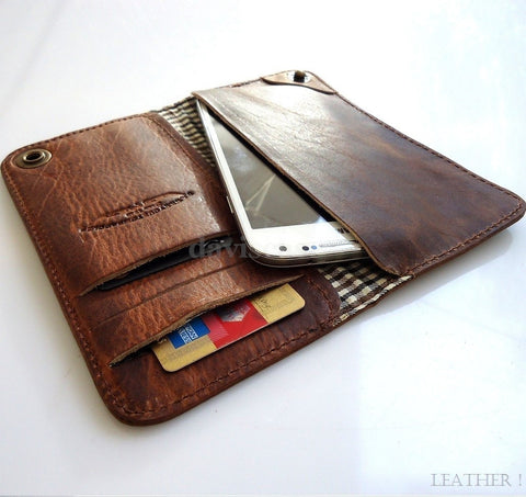 genuine leather Case For lg g2 Nokia Lumia 1020  LG Nexus 5 book wallet handmade