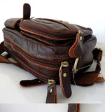 Genuine real Leather Shoulder wallet Bag man woman Pocket Waist Pouch skin uk il