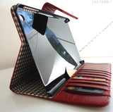genuine vintage real Leather Bag for iPad 4 mini case cover handbag apple ipad4