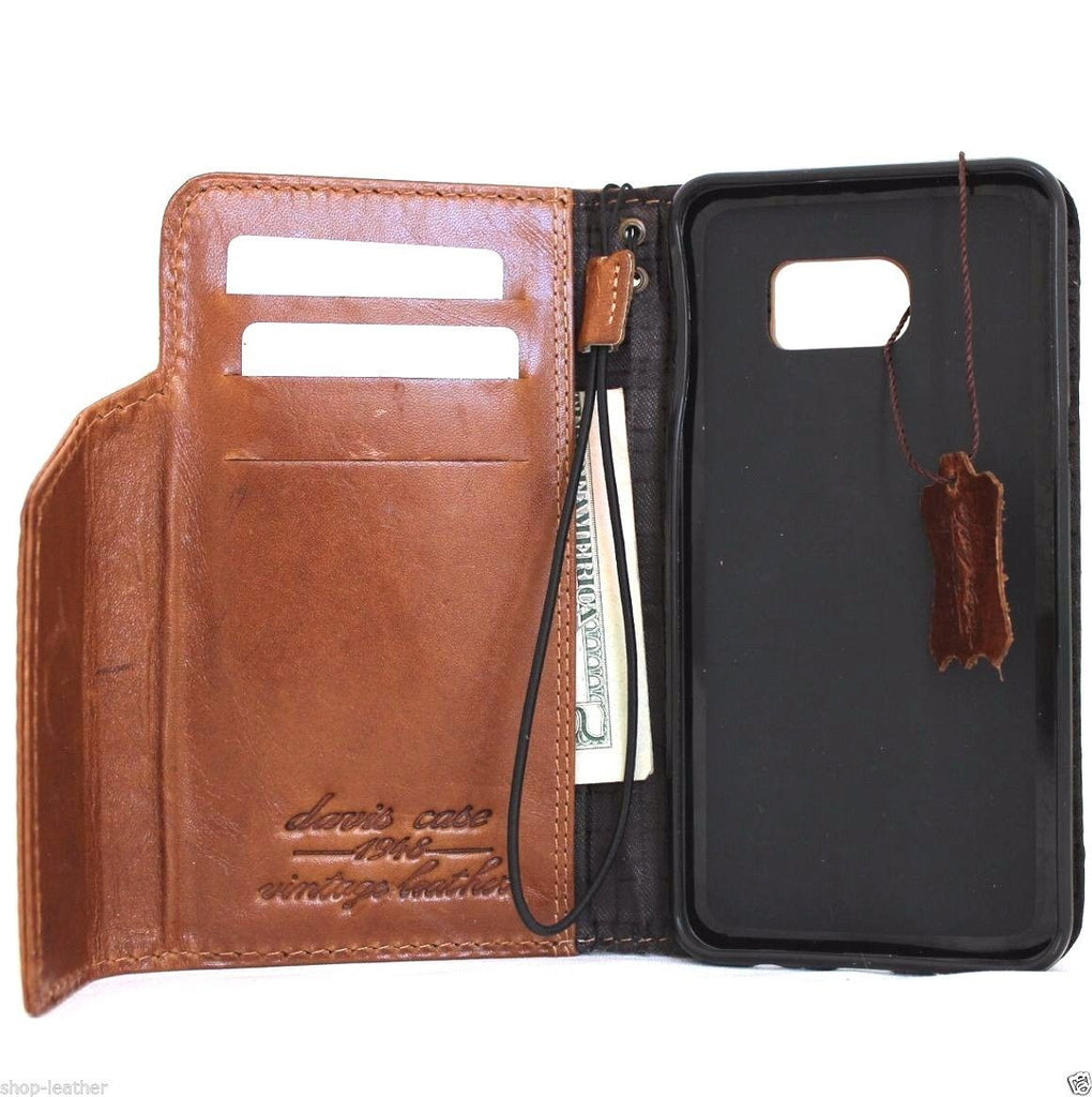 samsung s6 real leather case