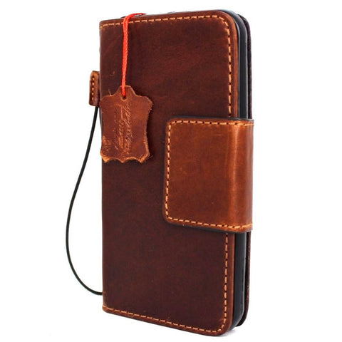 genuine italian leather Case for Samsung Galaxy S7  book wallet luxury cover s Businesse daviscase lite mag