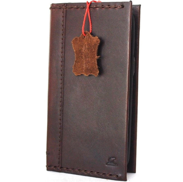 Genuine High Quality Leather case for Samsung Galaxy S8 Plus book Wallet cover Cards slot soft Brown cover jafo 48 design