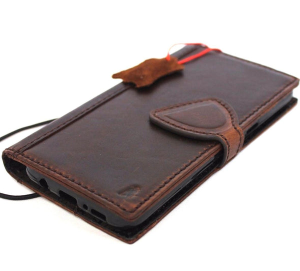 Genuine high quality leather Case for Samsung Galaxy S8 book natural wallet magnetic handmade cover daviscase