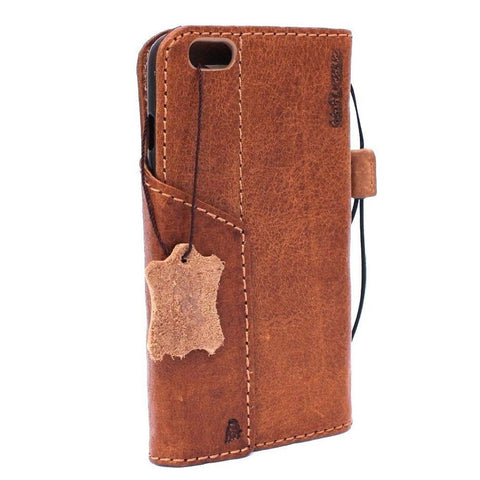 Genuine full leather iPhone 8 plus magnetic case cover wallet credit holder book luxury Jafo pro
