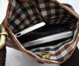 genuine Leather Bag Messenger for  iPad mini croos bogey soft new