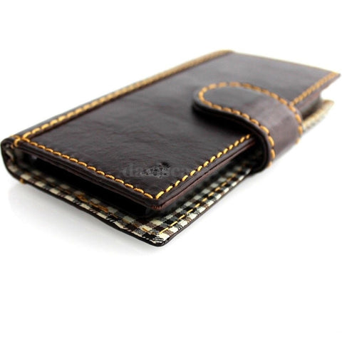genuine leather Case for Samsung Galaxy Note 3 book wallet flip handmade skin luxury handcraft