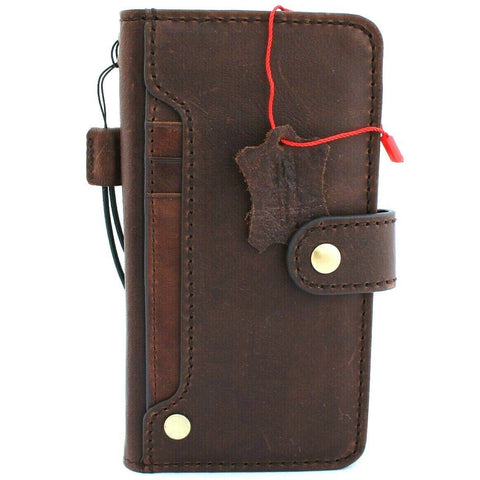 Genuine Real Leather Case for Google Pixel 4 XL Book Wallet Handmade holder Retro closure Luxury IL Davis 1948