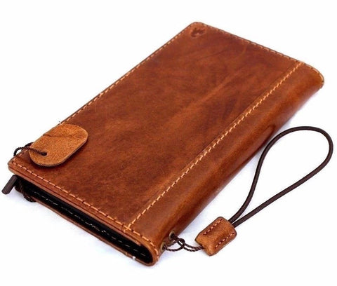 Genuine full leather for apple iPhone 6 6s classic case cover with wallet credit holder luxury JP